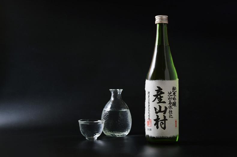 鯉農法 日本酒・焼酎「産山村」